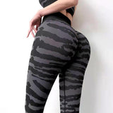 Freeinshop SO FAR GONE SEAMLESS LEGGINGS