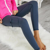 Freeinshop MULTI-POCKET STRETCHY TOGA LEGGINGS