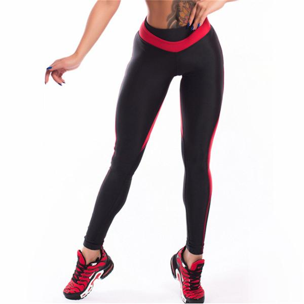 Freeinshop Streamlined Tight Running Fitness Yoga Pants