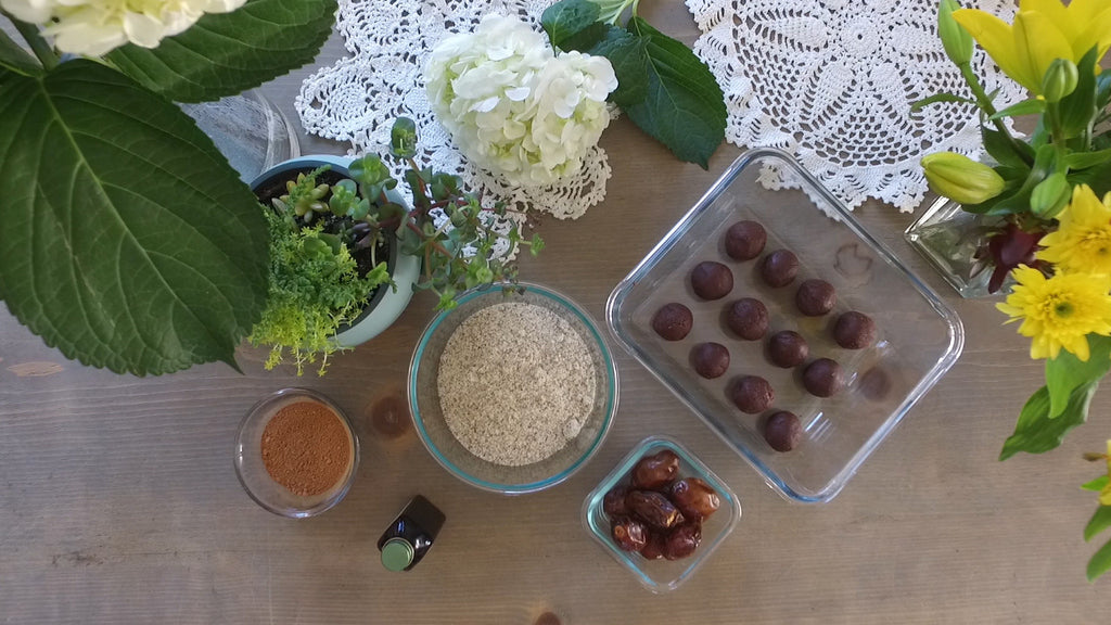 Raw Brownie Balls (Healthy & Delicious)-Be Inspired Lifestyle