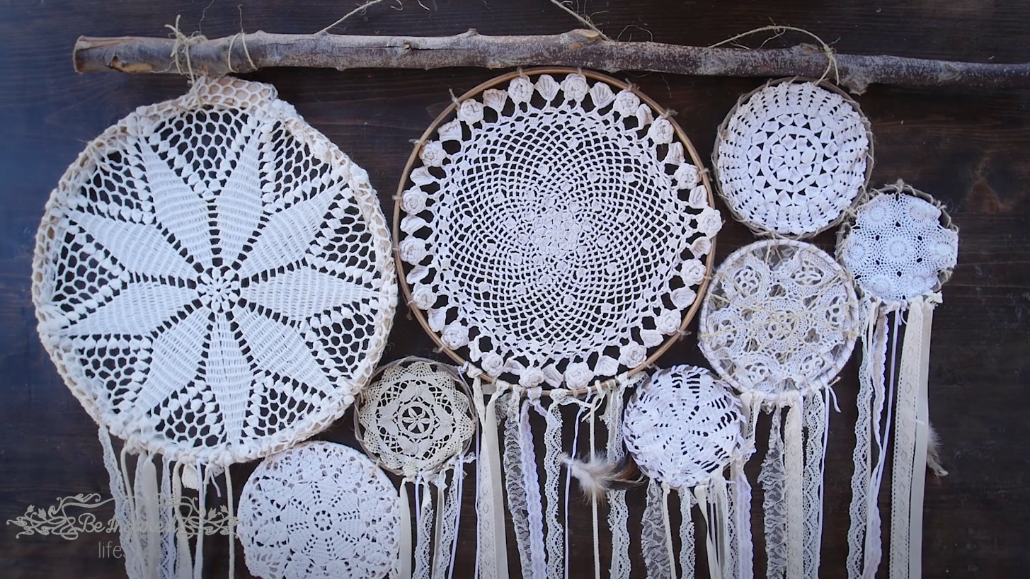 DIY Dream Catcher Wall Hanging Be Inspired Lifestyle