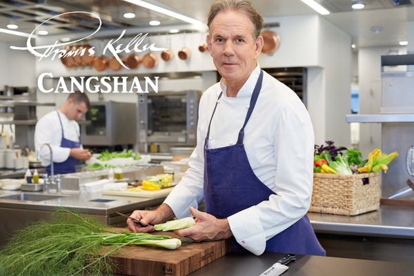 Michelin-Starred American Chef Thomas Keller partners with cutting-edge knife manufacturer Cangshan Cutlery