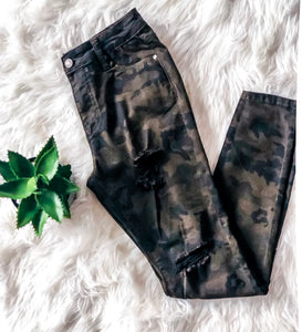 ON A MISSION CAMO PANT