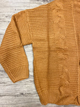 Load image into Gallery viewer, LOVE ME TAN CAMEL CARDIGAN