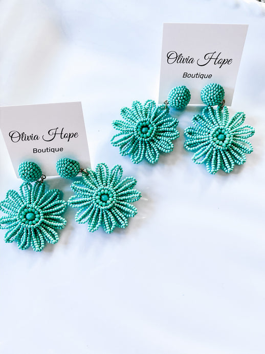 FLOWER GIRL EARRINGS