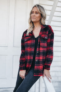 RED FLANNEL SHACKET (shirt-jacket)