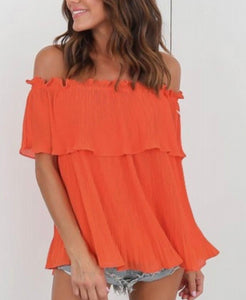 ORANGE BLISS TOP