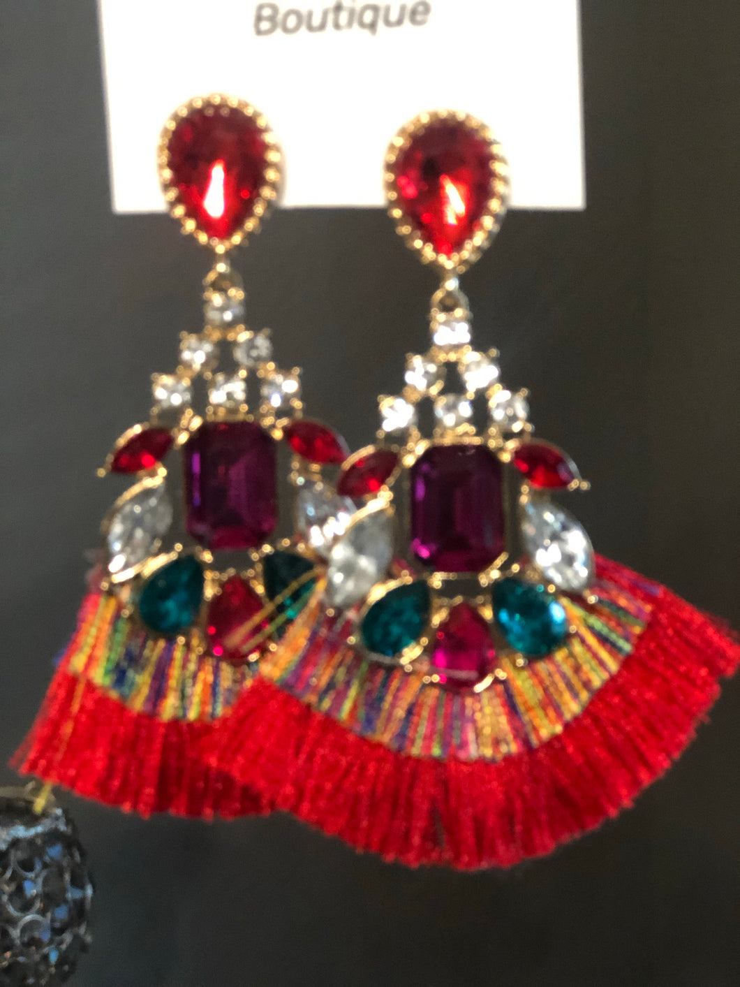 SPANISH DANCER EARRINGS