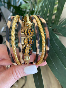 LEOPARD LAYER BRACELET