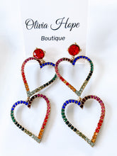 Load image into Gallery viewer, QUEEN OF HEARTS EARRINGS