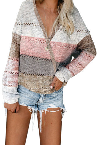 BE MINE COLOR BLOCK SWEATER