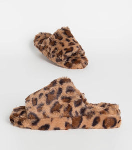 LEOPARD SLIPPER