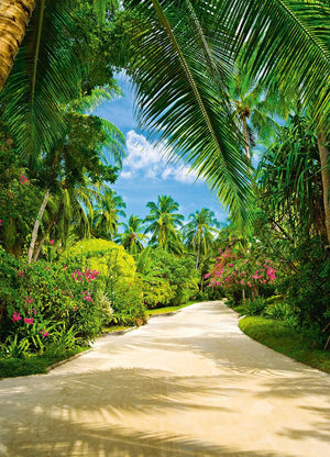 Wizard+Genius Tropical Pathway Fotobehang 183x254cm | Yourdecoration.nl