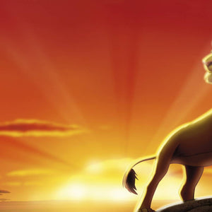 Komar The Lion King Fotobehang 202x73cm | Yourdecoration.nl