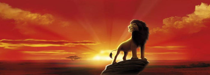 Komar The Lion King Fotobehang 202x73cm