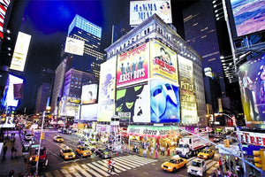 Papermoon New York Time Square Vlies Fotobehang 250x180cm | Yourdecoration.nl