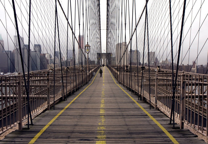 Papermoon Brooklyn Bridge Vlies Fotobehang 350x260cm