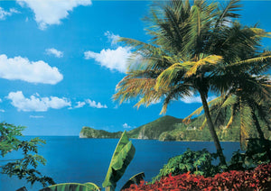 Papermoon St. Lucia Vlies Fotobehang 350x260cm | Yourdecoration.nl