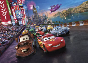 Komar Cars Race Fotobehang 254x184cm | Yourdecoration.nl