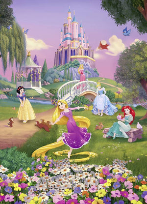 Komar Disney Princess Sunset Fotobehang 184x254cm | Yourdecoration.nl