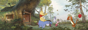 Komar Winnie the Pooh's House Fotobehang 368x127cm | Yourdecoration.nl