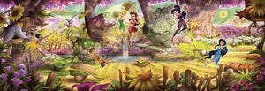 Komar Fairies Forest Fotobehang 368x127cm | Yourdecoration.nl