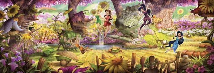 Komar Fairies Forest Fotobehang 368x127cm