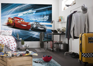 Komar Cars 3 Simulation Fotobehang 254x184cm | Yourdecoration.nl