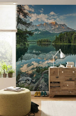Komar Mirror Lake Fotobehang 184x254cm | Yourdecoration.nl
