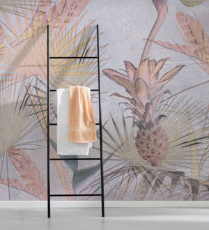 Komar Tropical Concrete Fotobehang 368x254cm | Yourdecoration.nl