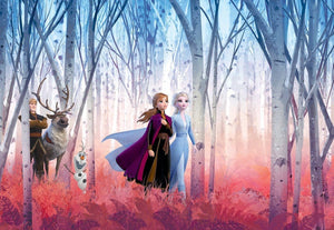 Komar Frozen Friends Forever Fotobehang 368x254cm 8-delig | Yourdecoration.nl