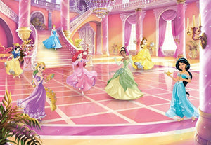 Komar Disney Princess Glitzerparty Fotobehang 368x254cm 8-delig | Yourdecoration.nl