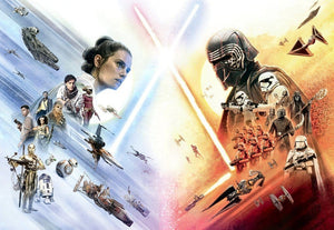 Komar Star Wars EP9 Movie Poster Wide Fotobehang 368x254cm 8-delig | Yourdecoration.nl