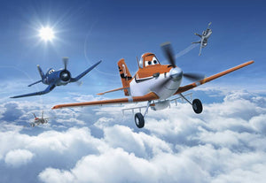 Komar Planes Above the Clouds Fotobehang 368x254cm | Yourdecoration.nl