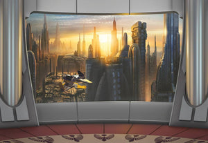 Komar Star Wars Coruscant View Fotobehang 368x254cm | Yourdecoration.nl