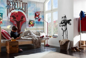 Komar Star Wars Rebels Wall Fotobehang 368x254cm | Yourdecoration.nl