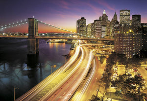 Komar NYC Lights Fotobehang National Geographic 368x254cm | Yourdecoration.nl