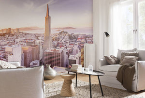 Komar San Francisco Morning Fotobehang 368x254cm | Yourdecoration.nl