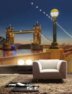 Komar Tower Bridge Fotobehang 368x254cm | Yourdecoration.nl