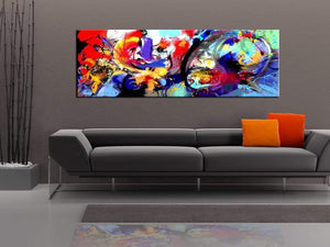Artgeist Colourful Immersion Canvas Schilderij  | Yourdecoration.nl