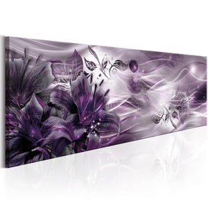 Artgeist Amethyst Constellation Canvas Schilderij  | Yourdecoration.nl
