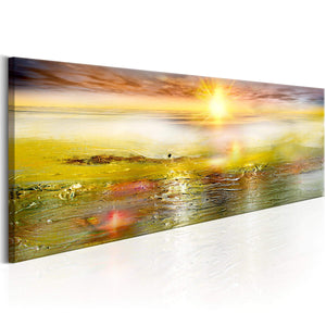 Artgeist Sunny Sea Canvas Schilderij  | Yourdecoration.nl