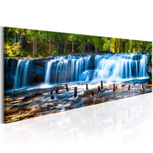 Artgeist Beautiful Waterfall Canvas Schilderij  | Yourdecoration.nl