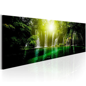 Artgeist Emerald Treasure Canvas Schilderij  | Yourdecoration.nl