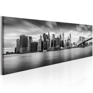 Artgeist New York Stylish City Canvas Schilderij  | Yourdecoration.nl