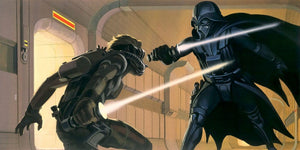 Komar Star Wars Classic RMQ Vader vs Luke Vlies Fotobehang 500x250cm 10-banen | Yourdecoration.nl