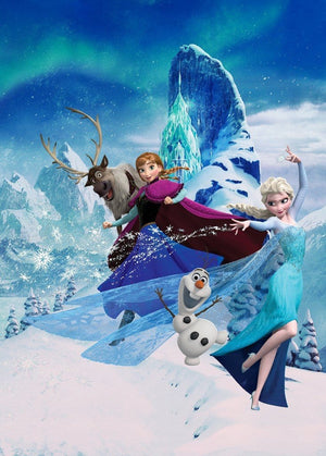 Komar Frozen Elsas Magic Vlies Fotobehang 200x280cm 4-banen | Yourdecoration.nl