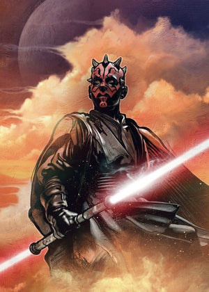 Komar Star Wars Classic Darth Maul Vlies Fotobehang 200x280cm 4-banen | Yourdecoration.nl