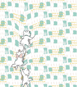Komar Kitty Climbers Vlies Fotobehang 250x280cm 5-banen | Yourdecoration.nl