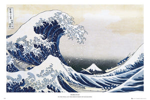 GBeye Hokusai Great Wave Poster 91,5x61cm | Yourdecoration.nl